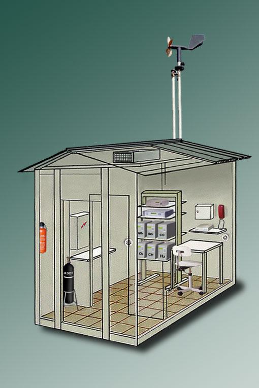 Автоматическая станция контроля загрязнения атмосферного воздуха