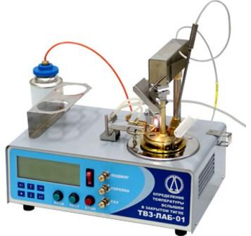 Автоматический аппарат ТВЗ-ЛАБ-11 для определения температуры вспышки в тигле
