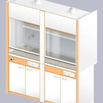 Шкаф вытяжной ЛАБ-1800 ШВ-Н