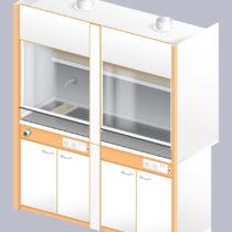 Шкаф вытяжной ЛАБ-1800 ШВТ-Н